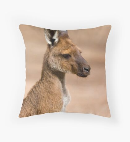 Roo Portrait Throw Pillow