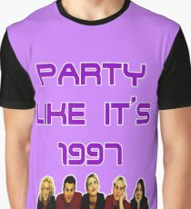 Party Like It's 1997 (Steps Style) Graphic T-Shirt