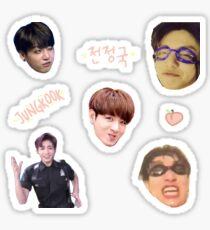BTS JUNGKOOK - Sticker Sheet Sticker