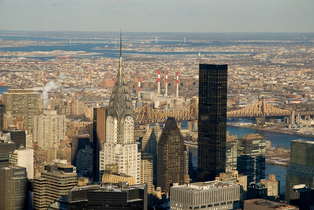 View from the Empire State by Scarlet