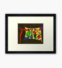 Framed Abstract Framed Print
