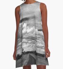 Thunderbolt Country A-Line Dress