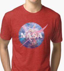 Pastellnebel Nasa Logo Vintage T-Shirt