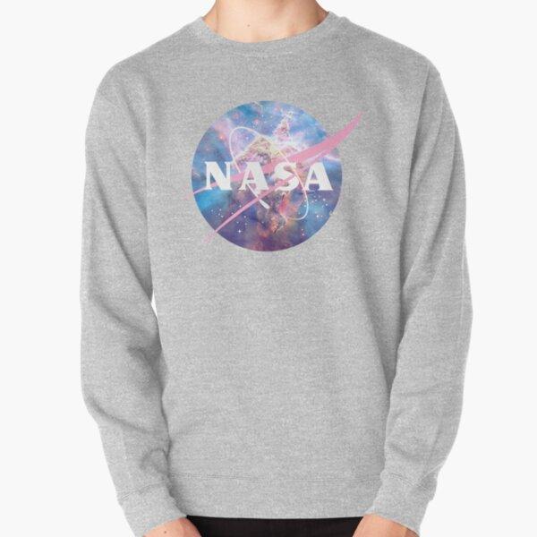 Pastel Nebula Nasa Logo Pullover Sweatshirt