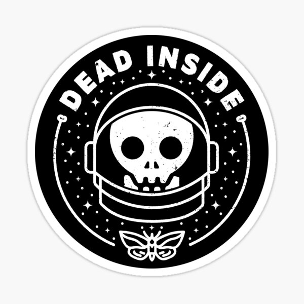 Dead Inside Sticker