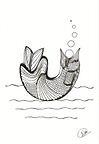 Fish Bubbles by Donna Martin