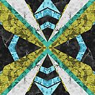 Marble Geometric Background G442 by MEDUSA GraphicART