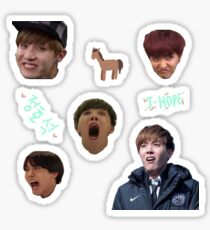 BTS J-HOPE - Sticker Sheet Sticker