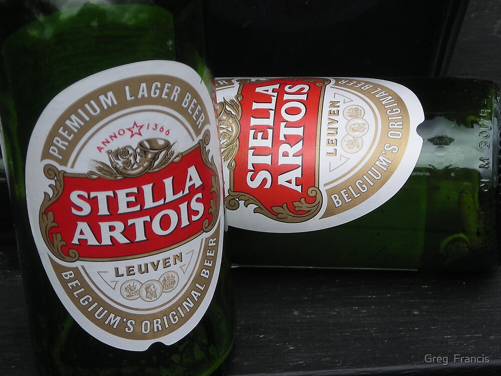Whats better than one Stella ? by Greg  Francis