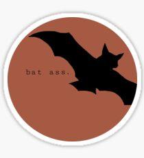 Bat Ass Sticker
