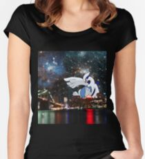Lugia Skyline Women's Fitted Scoop T-Shirt