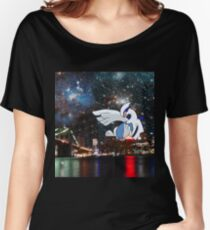 Lugia Skyline Women's Relaxed Fit T-Shirt