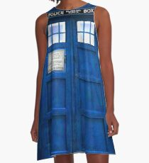 Doctor Who Tardis Dress - COSPLAY A-Line Dress