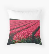 Evening tulips Throw Pillow
