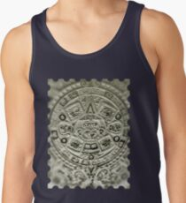 ©HS Aztec Sun Calendar II Tank Top