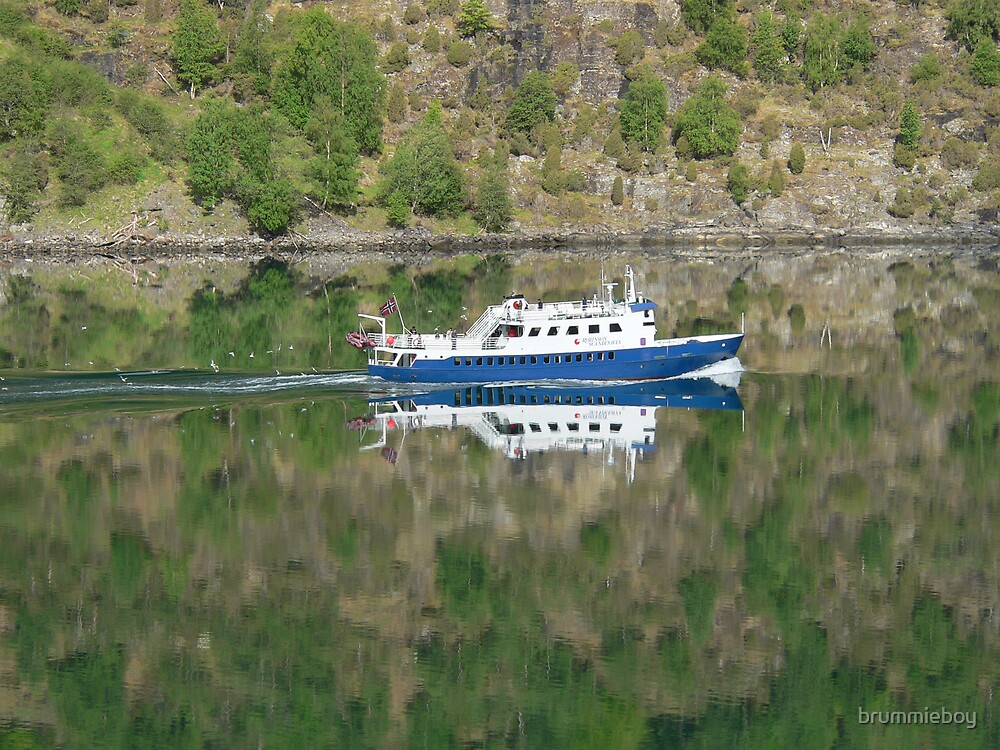 Fjord Reflections by brummieboy