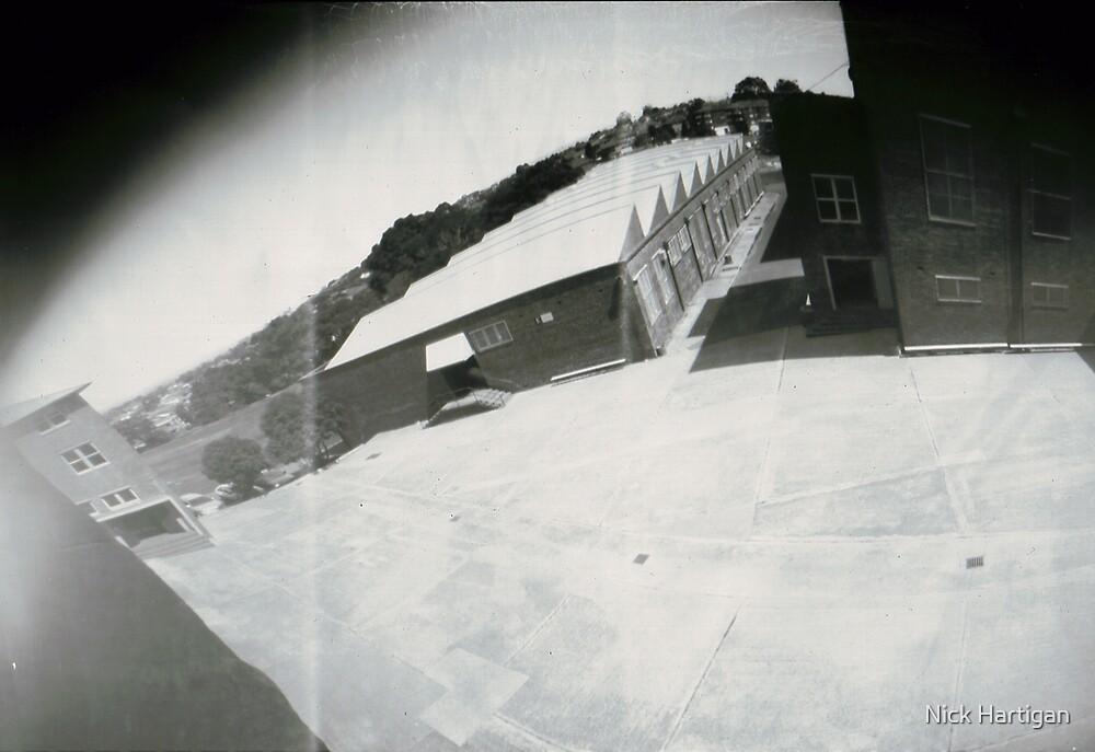 School Quadrangle by Nick Hartigan