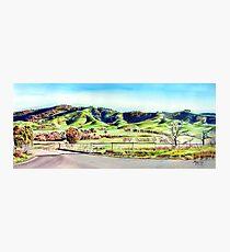 Landscape of NSW Australia Photographic Print