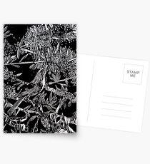 Yang Bird - Woodcut Postcards