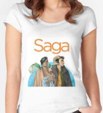 Saga - Comic Women's Fitted Scoop T-Shirt
