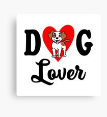 Dog Lover Canvas Print