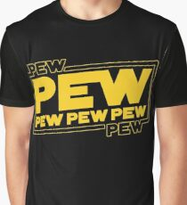 Star Wars Pew Pew! Graphic T-Shirt