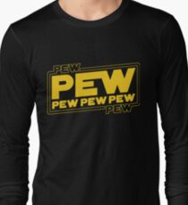 Star Wars Pew Pew! Long Sleeve T-Shirt