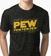Star Wars Pew Pew! Tri-blend T-Shirt