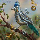 the 'Blue Beaked Bastard Bird' by Shane  Gehlert