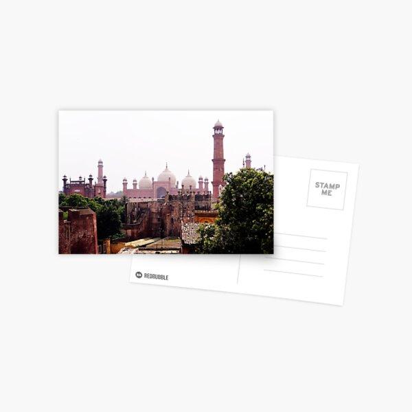 Badshahi Mosque and Lahore Fort Postcard