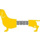 Springy Wiener Dog by TsipiLevin
