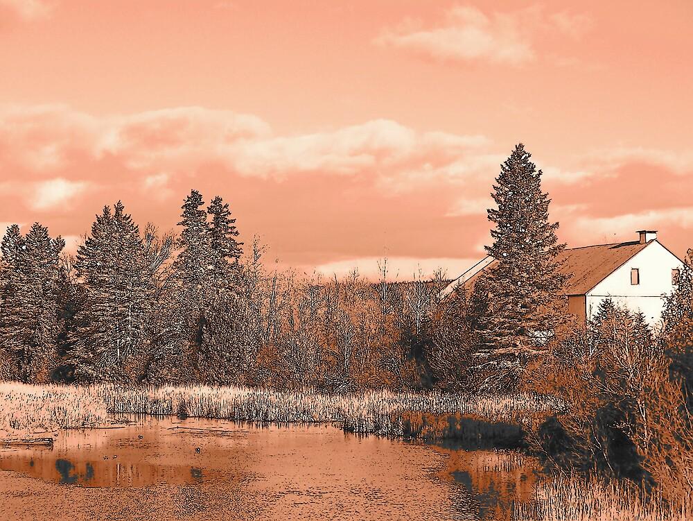 Pond Farm by Gene Cyr