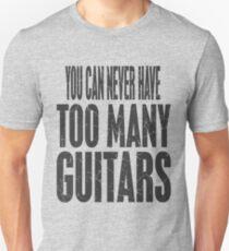 Guitars, Guitars, Guitars. Unisex T-Shirt
