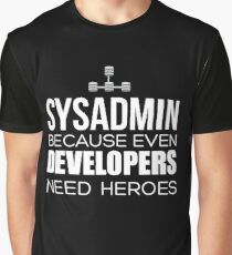 sysadmin t shirt Graphic T-Shirt
