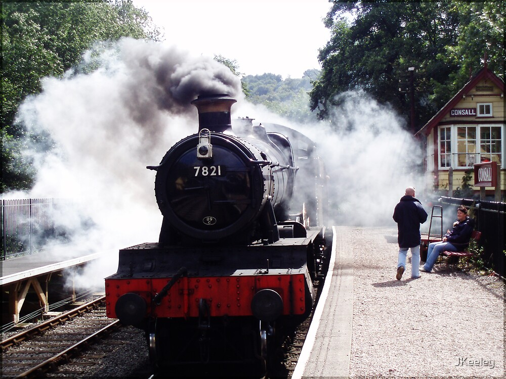 Ditcheat Manor On The Severn Valley Railway by JKeeley
