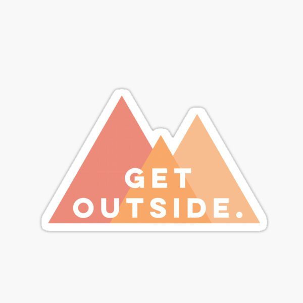 Get Outside Sticker