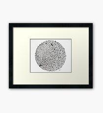 Circle # 10 Framed Print