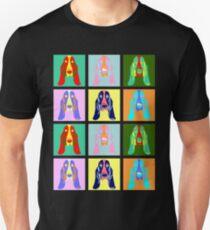 Basset Hound Pop Art Unisex T-Shirt