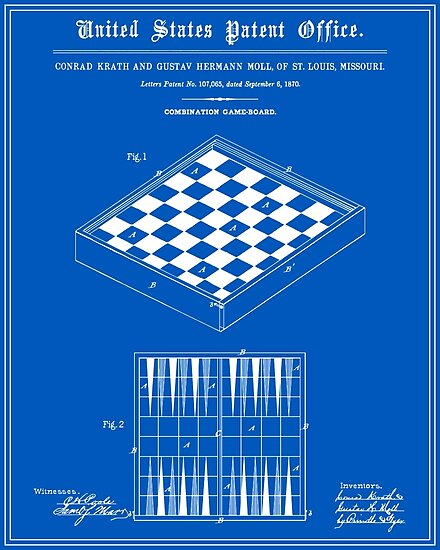 game board patent blueprint posters by finlaymcnevin redbubble