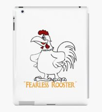 fearless rooster iPad Case/Skin