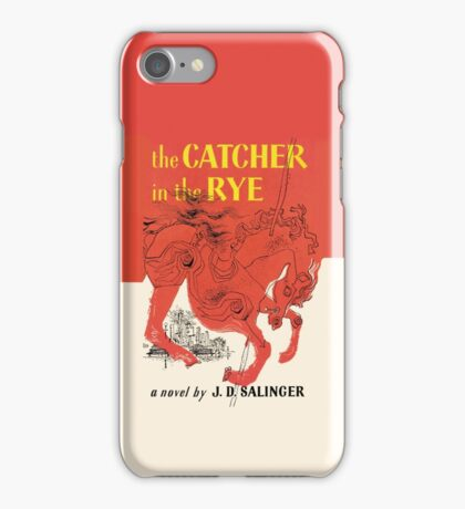 Catcher in the Rye iPhone Case/Skin