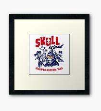Skull Island Helicopter Adventure Tours Framed Print