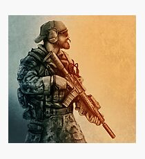 Ghost Recon Soldier Photographic Print