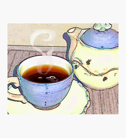 Tea For One Photographic Print