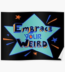 Felicia Day - Embrace Your Weird Apparel Poster