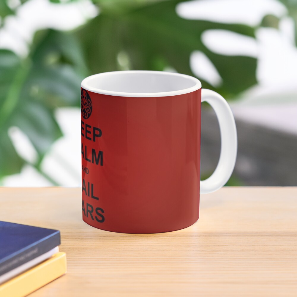 Keep Calm and Hail Wars! Mug