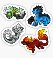 Oriental Dragon Sticker Pack 1 Sticker