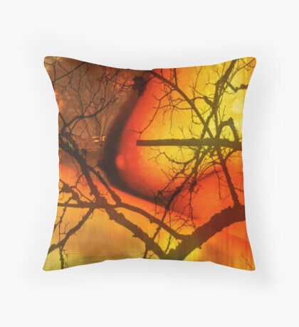 The last day Throw Pillow