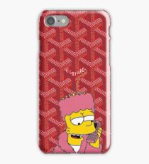 Killa bart X Goyard Red Phone Case iPhone Case/Skin