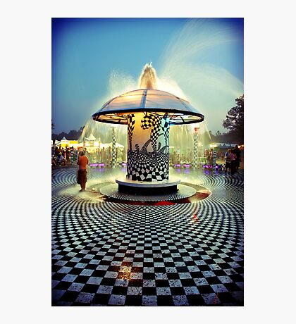 The 2007 Bonnaroo Fountain Photographic Print